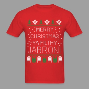 Merry Christmas Ya Filthy Jabroni (Men's) - Men's T-Shirt