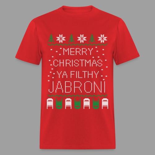 Merry Christmas Ya Filthy Jabroni (Men's) - Men's T-Shirt