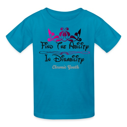 Ability in Disability  - Kids' T-Shirt