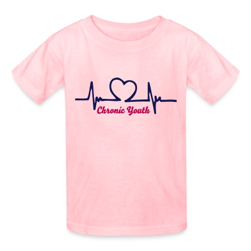 Headphones Heart Monitor - Kids' T-Shirt