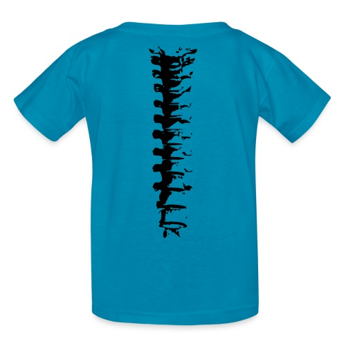 Human Spine (on reverse side) - Kids' T-Shirt