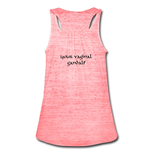 Vaginal Gandalf Tank-Marble Red - Women's Flowy Tank Top by Bella