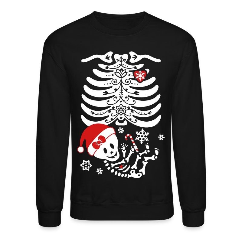 Santa Baby Skelly - Girl (non maternity) - Crewneck Sweatshirt