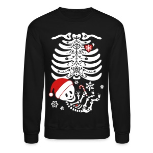 Santa Baby Skelly (non maternity) - Crewneck Sweatshirt