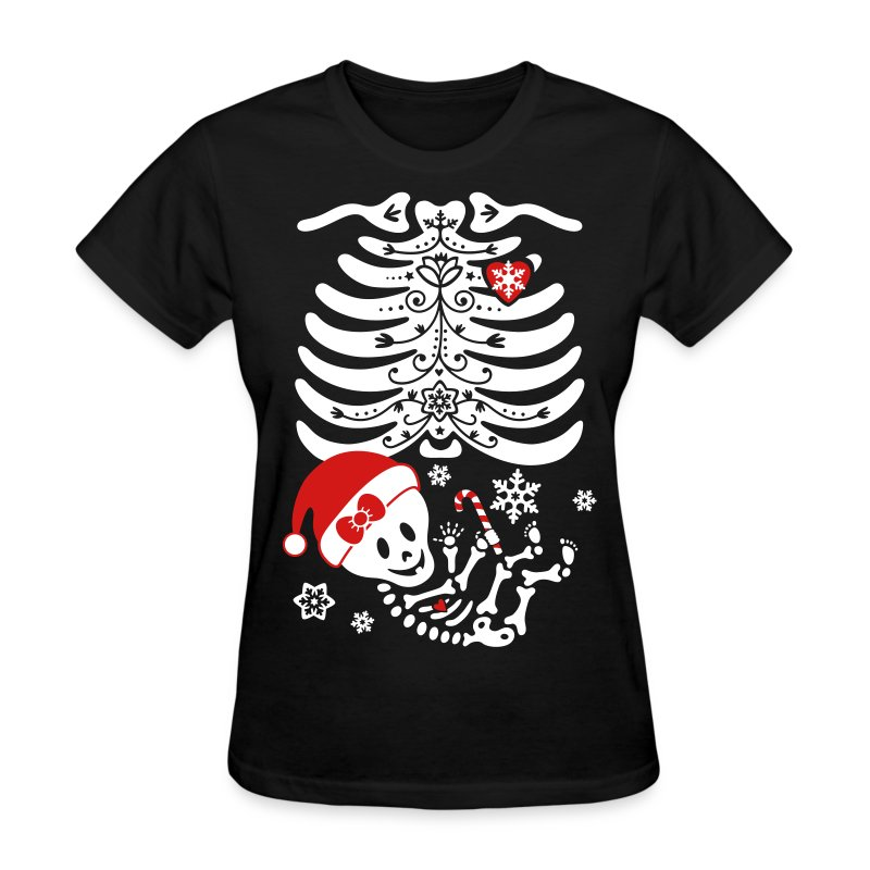 Santa Baby Skelly - Girl (non maternity) - Women's T-Shirt