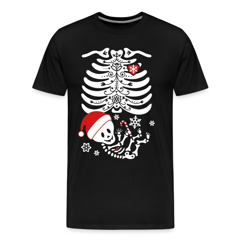 Santa Baby Skelly  (non maternity) - Men's Premium T-Shirt