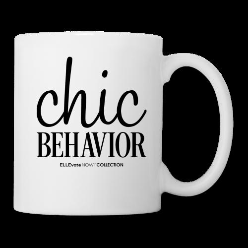 CHIC BEHAVIOR MUG WHITE - Coffee/Tea Mug