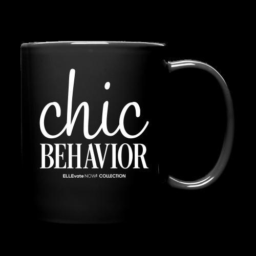 CHIC BEHAVIOR MUG BLACK - Full Color Mug