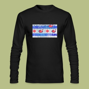 Chicago Flag  - Men's Long Sleeve T-Shirt by Next Level