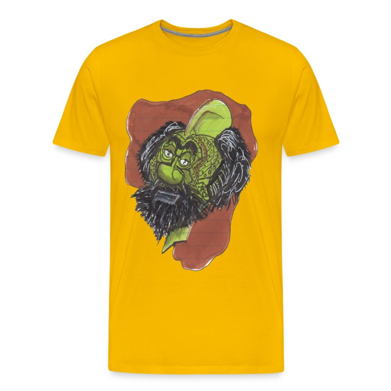 HEADBUST 35.png - Men's Premium T-Shirt