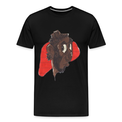 HEADBUST 34.png - Men's Premium T-Shirt