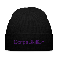 Sportswear ~ Knit Cap with Cuff Print ~ Corpse Killer