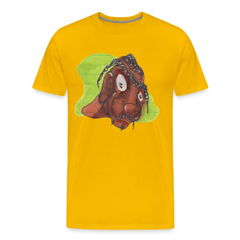 HEADBUST 55.png - Men's Premium T-Shirt