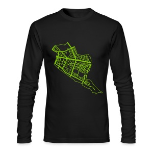 Friedrichshain Berlin - Men's Long Sleeve T-Shirt by Next Level