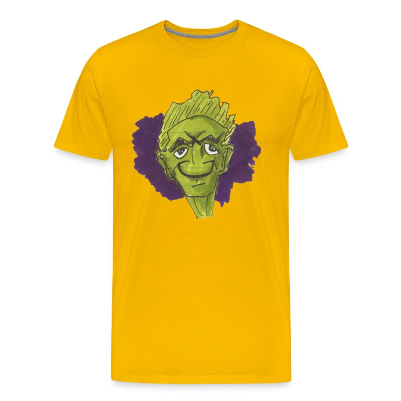 HEADBUST 64.png - Men's Premium T-Shirt