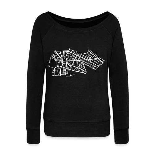 Berlin Kreuzberg - Women's Wideneck Sweatshirt