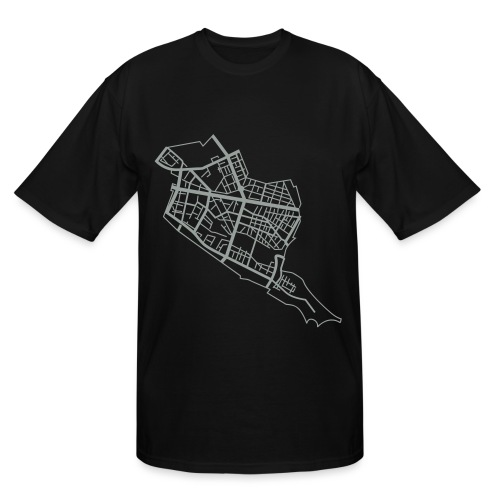 Friedrichshain Berlin - Men's Tall T-Shirt