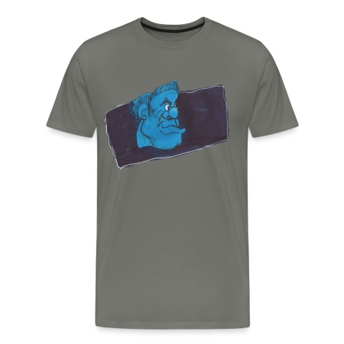 HEADBUST 77.png - Men's Premium T-Shirt