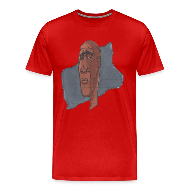 HEADBUST 74.png - Men's Premium T-Shirt