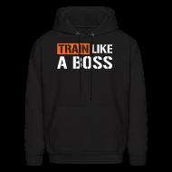 Hoodies ~ Men's Hoodie ~ Train like a boss