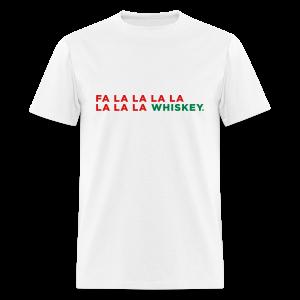 Funny Whiskey Christmas - Men's T-Shirt