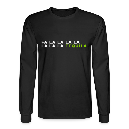 Tequila Christmas Song - Men's Long Sleeve T-Shirt