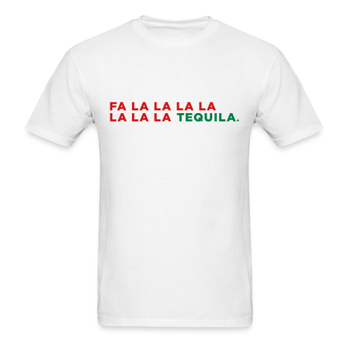 Tequila Christmas Song - Men's T-Shirt