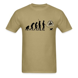 Humane Evo Tee Men's w/ HGAS logo front - Men's T-Shirt