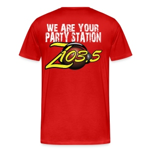We Are Your Party Station Z103.5  - Men's Premium T-Shirt