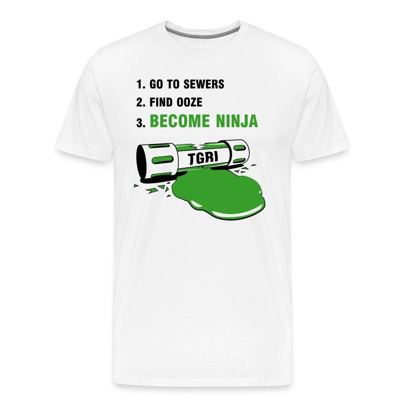 How to be a Ninja Turtle - Men's Premium T-Shirt