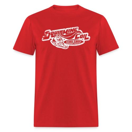 Phish Squirming Coil Surf Shop Lot Shirt White  - Men's T-Shirt