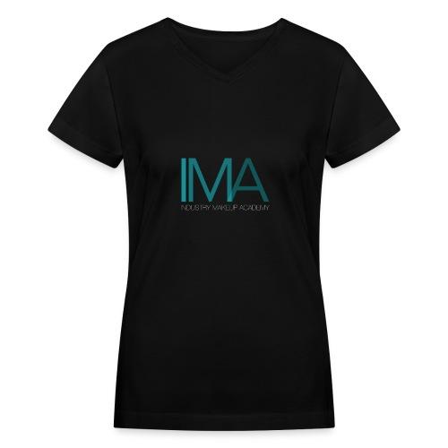 IMA V-Neck Makeup Artist Tee - Women's V-Neck T-Shirt