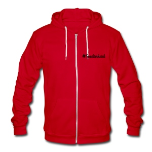SneakHerHead - Unisex Fleece Zip Hoodie by American Apparel