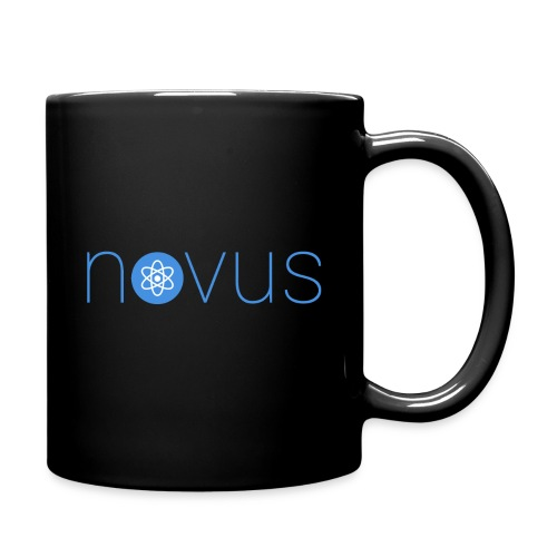 Mug with blue logo (Text form) - Full Color Mug