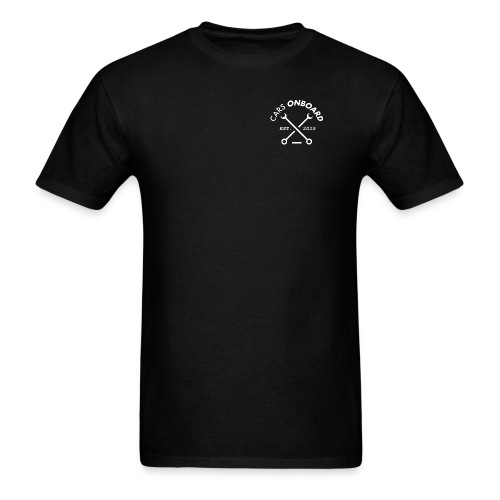 Cars Onboard Men's Classic Black - Men's T-Shirt