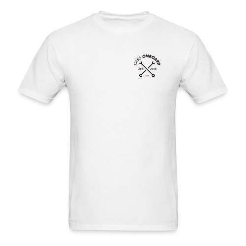 Cars Onboard Men's Classic White - Men's T-Shirt