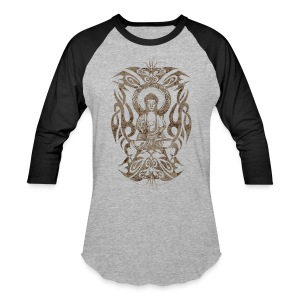 Tribal Buddha - Baseball T-Shirt