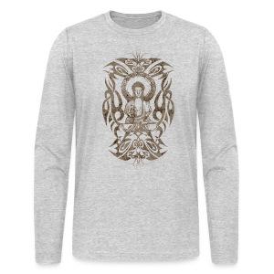Tribal Buddha - Men's Long Sleeve T-Shirt by Next Level