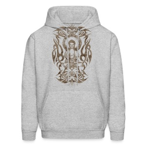 Tribal Buddha - Men's Hoodie