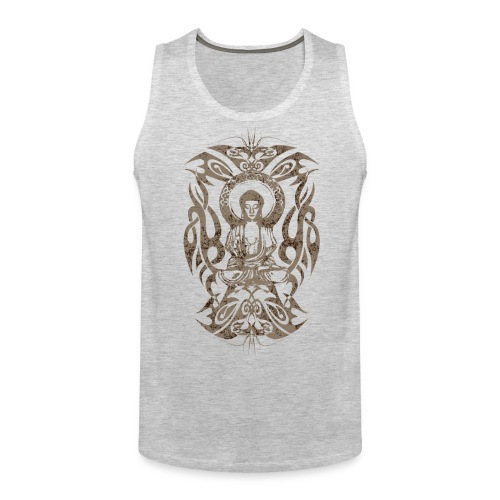 Tribal Buddha - Men's Premium Tank