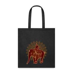 Indian Elephant Tote - Tote Bag