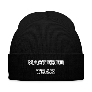 Mastered Trax Beanie - Knit Cap with Cuff Print
