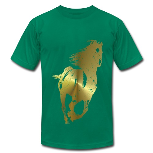Golden Horse - Men's Fine Jersey T-Shirt