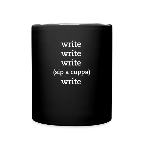 Write, Sip, Write, Sip Coffee Cup - Full Color Mug