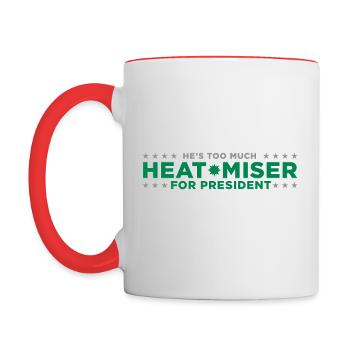 Heat Miser for President - Contrast Coffee Mug
