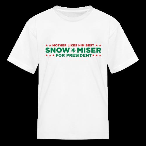 Snow Miser for President - Kids' T-Shirt