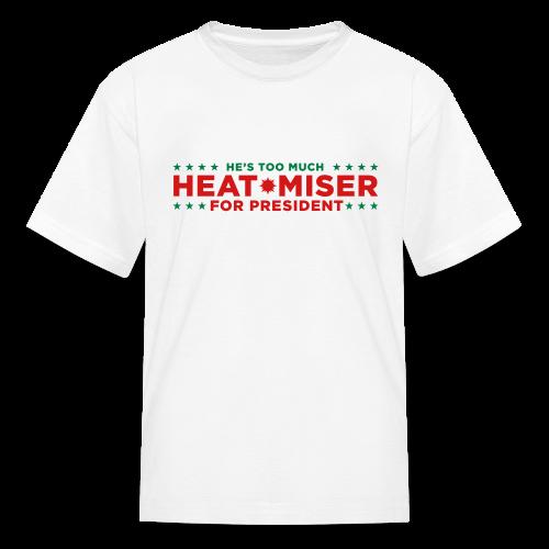 Heat Miser for President - Kids' T-Shirt