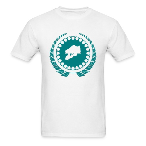 Teal 4 Logo Tee - Men's T-Shirt