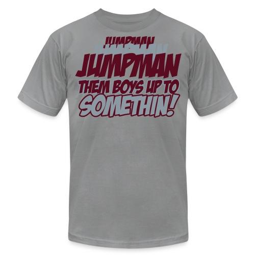 Jumpman Jumpman Jumpman - Men's Fine Jersey T-Shirt