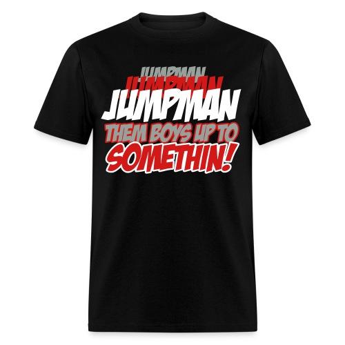 Jumpman Jumpman Jumpman - Men's T-Shirt